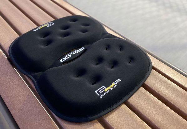 Gelco Products Black GSeat Lite Gel Seat Cushion