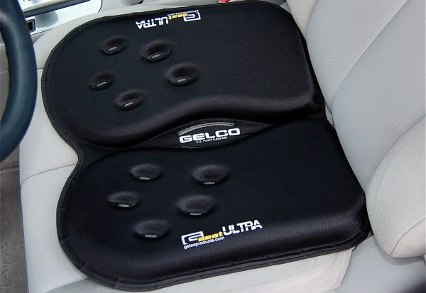 Gelco Products GSeat Ultra Gel Car Seat Cushion