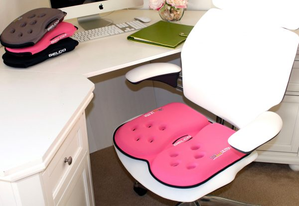 Gelco Products Pink GSeat Ultra Gel Seat Cushion