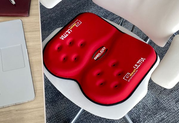 Gelco Products Red GSeat Ultra Gel Seat Cushion