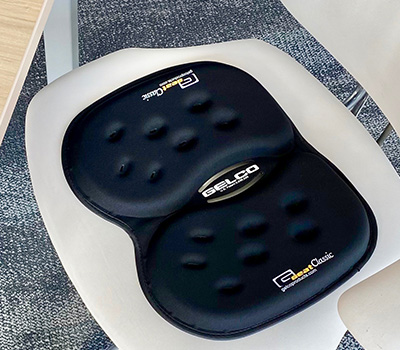Gelco Products Black GSeat Classic Gel Seat Cushion